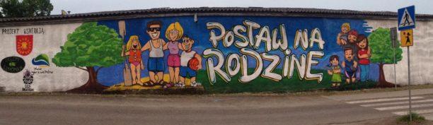 Mural dla SP w Bożkowie