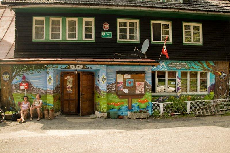"Mural na Schronisku PTTK ""Jagodna"""